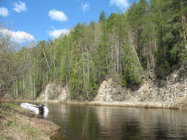 река Чуть Природа Ухты и Коми Ухта