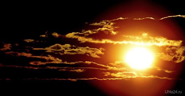 Солнце, облака... Разное Ухта