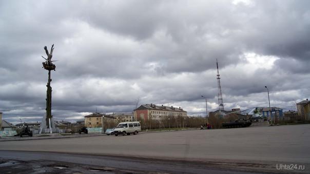 Воркута, Площадь Победы  Ухта