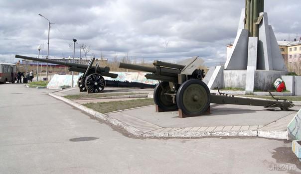 Воркута. Площадь Победы, фрагмент 2  Ухта