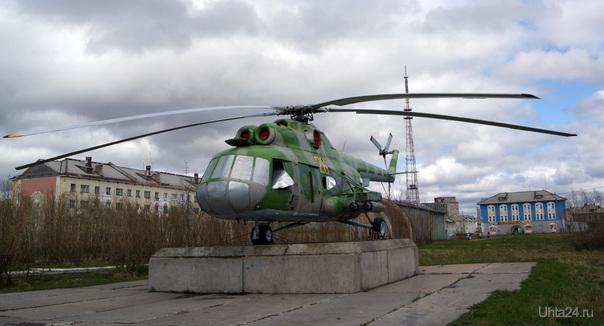 Воркута. Площадь Победы, фрагмент 3  Ухта