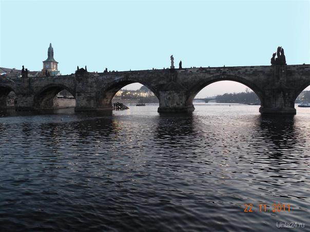 Прага.Вид на Карлов мост.2011г. Мир глазами ухтинцев Ухта