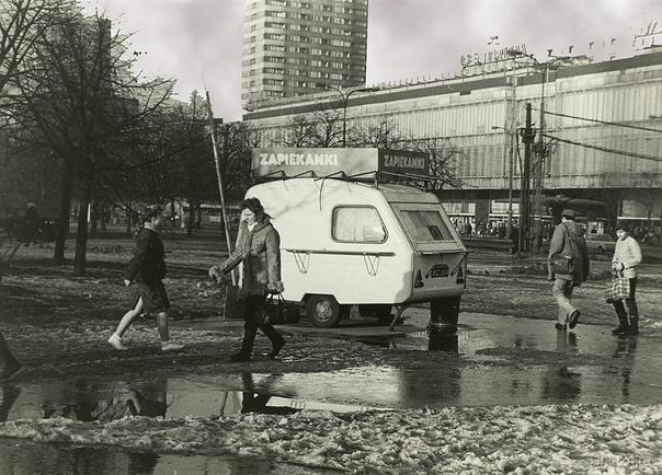 Варшава.Центр.1987г. Мир глазами ухтинцев Ухта