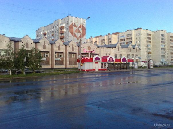 Город еще спит Улицы города Ухта