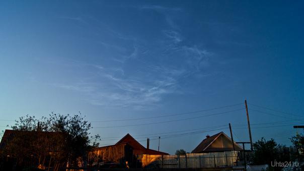 Серебристые облака Разное Ухта