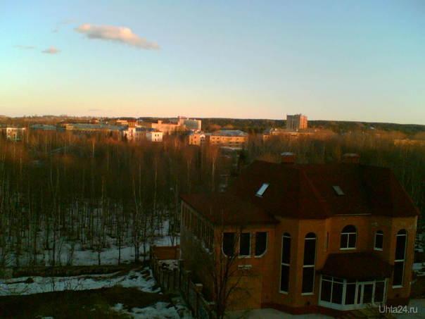 парк весна  Улицы города Ухта