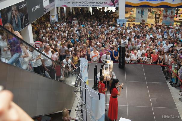 розыгрыш лотереи 14.07.2012г ЯРМАРКА, ТРЦ Ухта