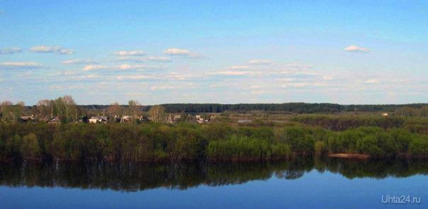 Город Сыктывкар, река Вычегда.Вот и лето наступило. Природа Ухты и Коми Ухта