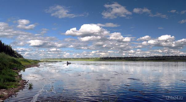 2011г. Река Печора в Троицко-Печорске. Природа Ухты и Коми Ухта