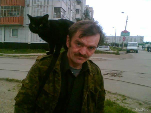 a ты так сможешь. кот моего брата Питомцы Ухта