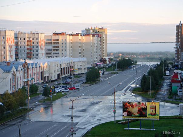 Утро туманное...  23.07.2012г. 04:00  Ухта