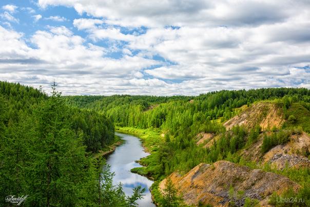 Река Седью... Природа Ухты и Коми Ухта
