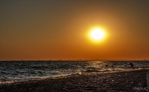 Закат над Евпаторией  Ухта