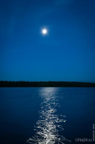 Белое озеро Природа Ухты и Коми Ухта
