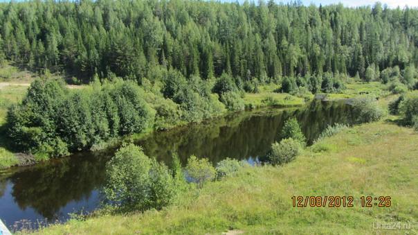 Река Омра Природа Ухты и Коми Ухта
