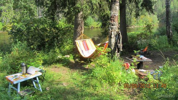 Рыбалка, река Тобысь Природа Ухты и Коми Ухта