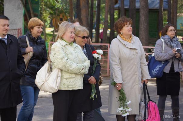 на открытии мемориальной доски Г.А.Карчевскому 21.08.2012г ...нашим слова не дали... Мероприятия Ухта