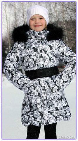 Пальто для девочки.Фирма Тимакс  Ухта