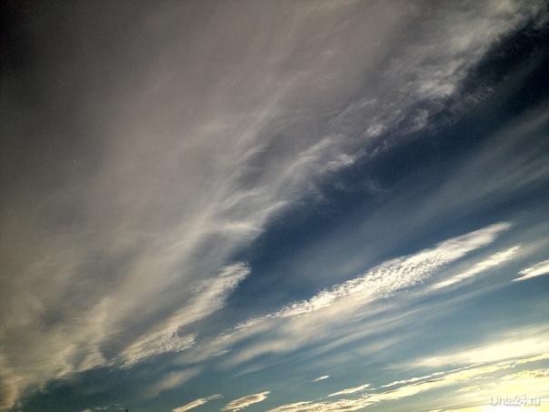 Небо над Ухтой Природа Ухты и Коми Ухта
