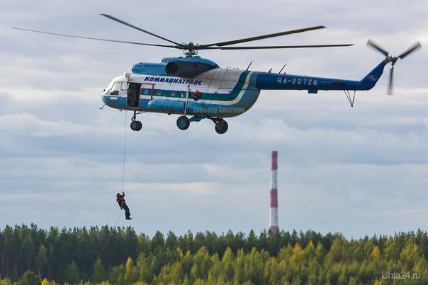 Тренировка авиационных спасателей. Разное Ухта