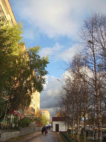 Последний день сентября Улицы города Ухта