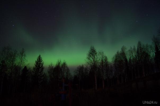 ПС 14 октября, около 12 ночи. Природа Ухты и Коми Ухта