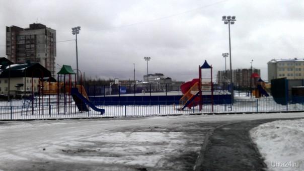 Детская площадка Улицы города Ухта