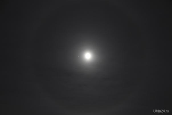 28.11.2012. Луна-луна. Природа Ухты и Коми Ухта