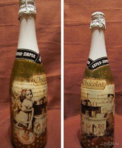 Оформление шампанского.  Ухта