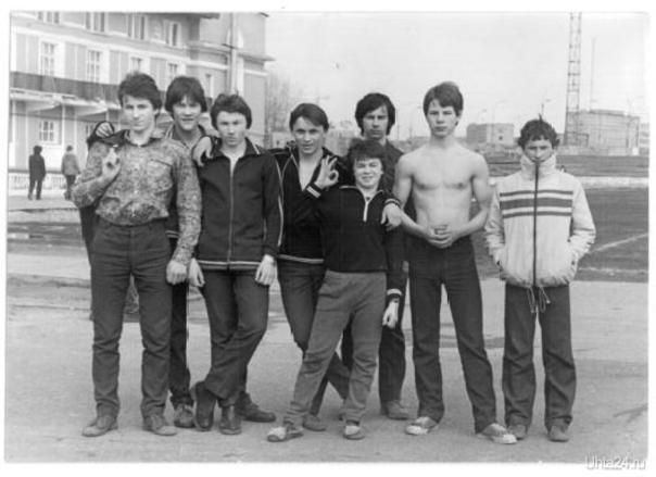 1983 г ст Нефтяник  Ухта