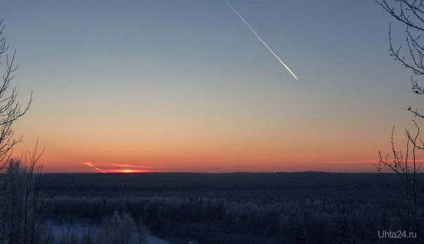 Зима.Подмораживает =) Природа Ухты и Коми Ухта
