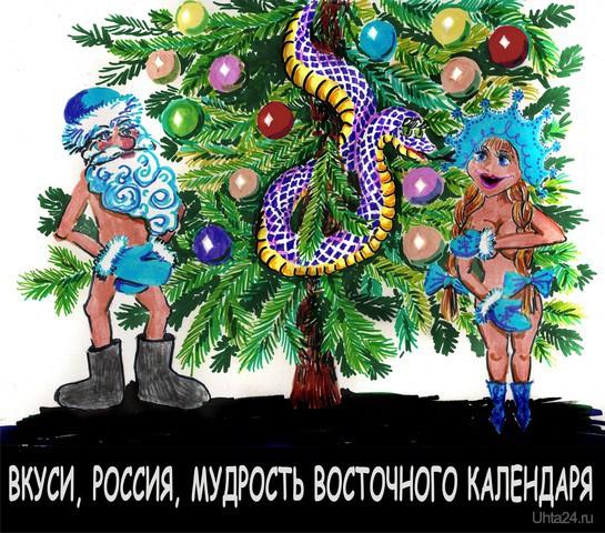 Новый год змеи  Ухта