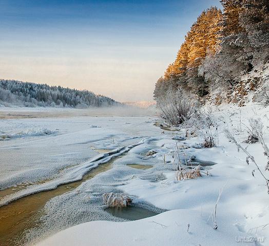 Ухта в декабре Природа Ухты и Коми Ухта