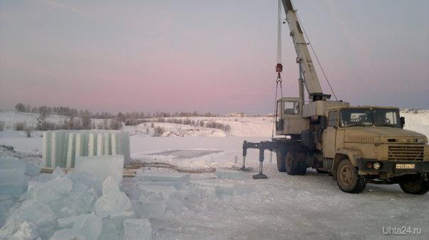 16.12.2012 Добыча льда. Разное Ухта