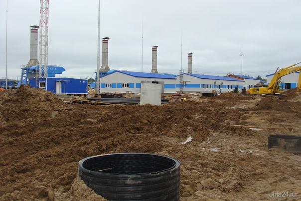 КС-13 Урдомская, строительскво цеха №5, июль 2012 Разное Ухта