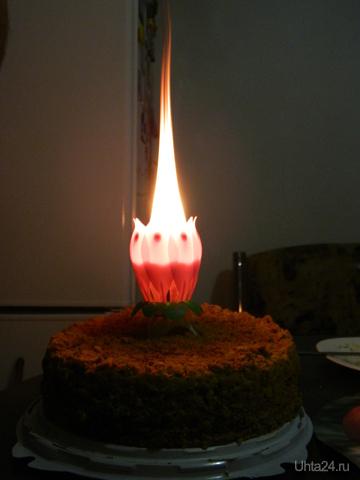 свечечка на тортик  Ухта