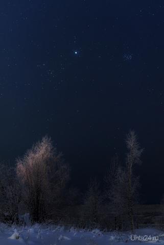 Альдебаран Юпитер Плеяды  Ухта