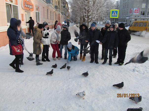 школьники Улицы города Ухта