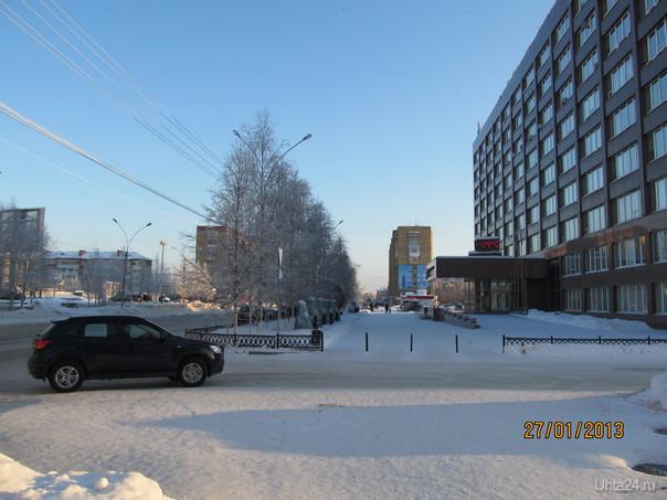 город Улицы города Ухта