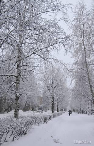 Ухта,улица 40 лет Коми. Улицы города Ухта