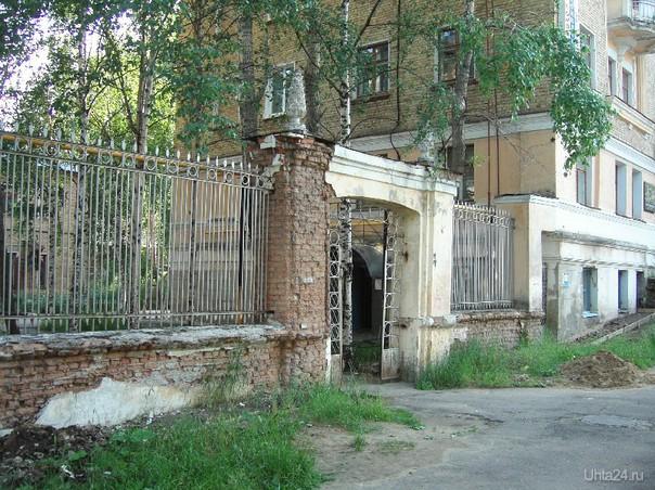 Старые дома Ухта