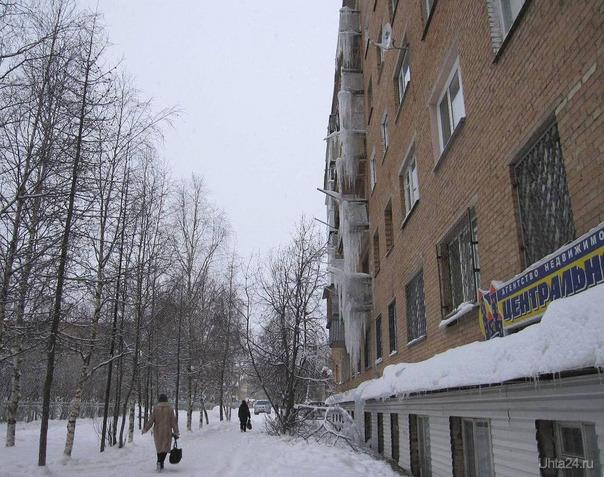 На улице Строителей.  Ухта