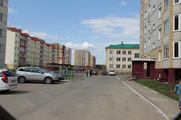 мой двор Улицы города Ухта