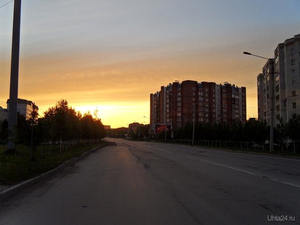 Утро начинается в 3-00 Улицы города Ухта