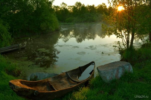 осталась только лодка Природа Ухты и Коми Ухта