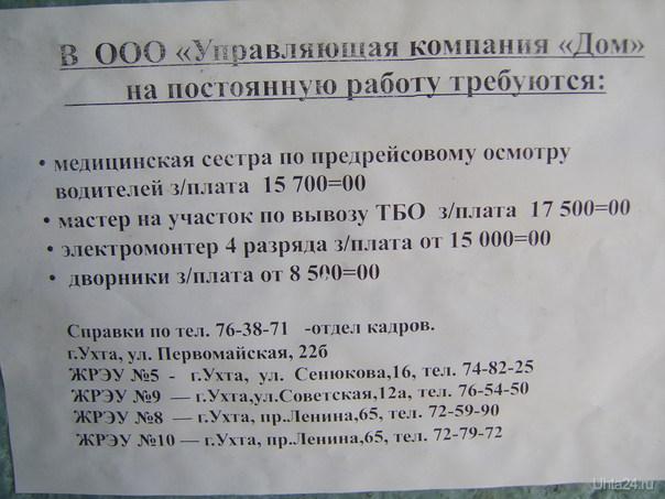 Вот такие объявления повесили у дверей подъездов Разное Ухта