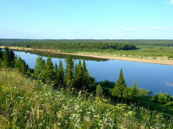 ...из далека долго...течёт река... Природа Ухты и Коми Ухта
