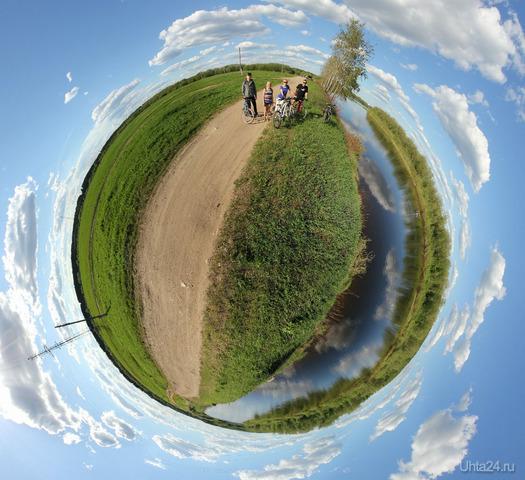 Велосипедные прогулки возле реки Природа Ухты и Коми Ухта