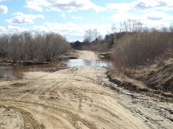 весенний паводок  Ухта
