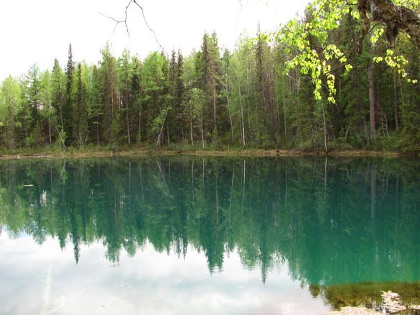 Голубое озеро.Параськины озера.